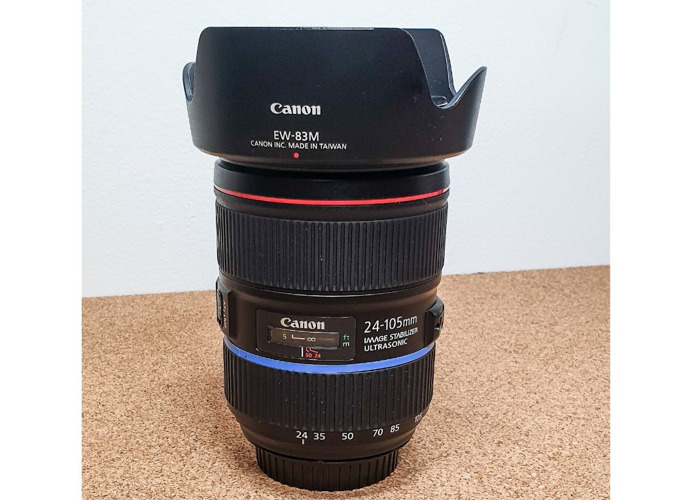 Canon 24-105mm EF f/4L IS II USM Lenses - 1
