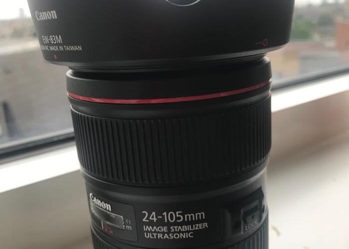 canon 24-105mm F4 lens - 1