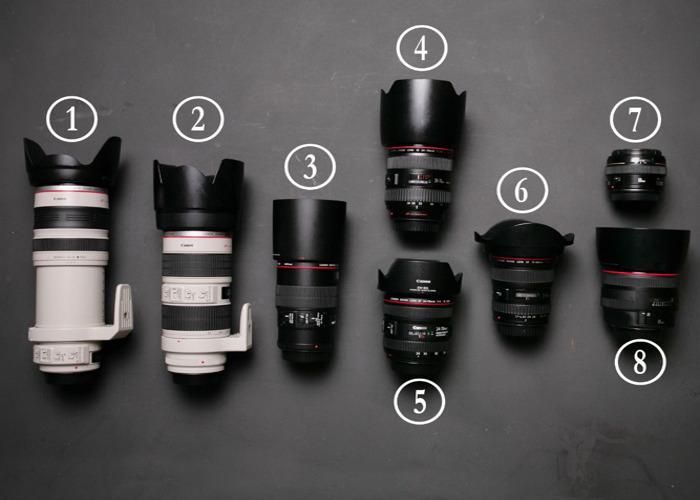 Canon 24 - 105 mm f4 telephoto lens / zoom  - 2