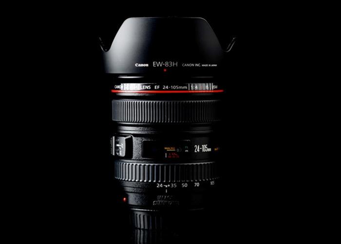 Canon 24 - 105 mm f4 telephoto lens / zoom  - 1