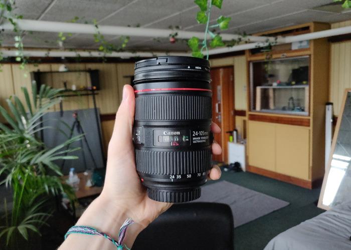 Canon 24-105mm f/4L USM lens - 1