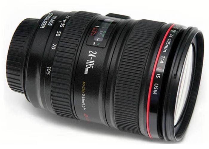 Canon 24-105mm f4 L lens - 1