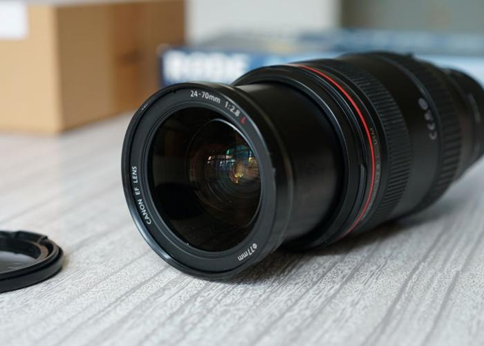 Canon 24-70 f2.8 L Zoom Macro Lens Af EF to E Sigma MC 11  - 1