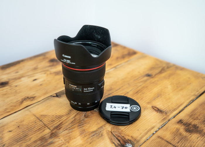 Canon 24-70 f/2.8 MK II Lens - 1