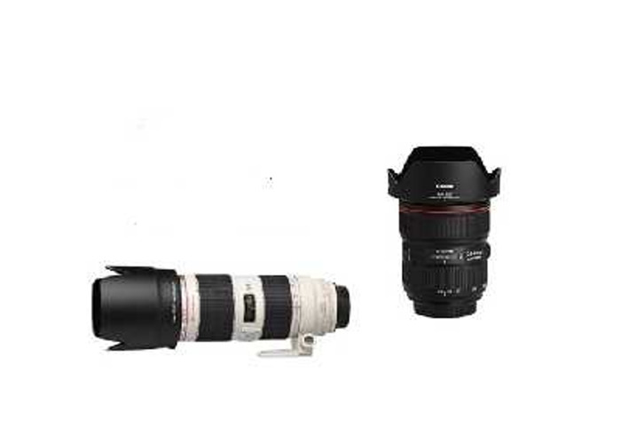 Canon 24-70mm 2.8 III , 70-200mm 2.8II   - 1