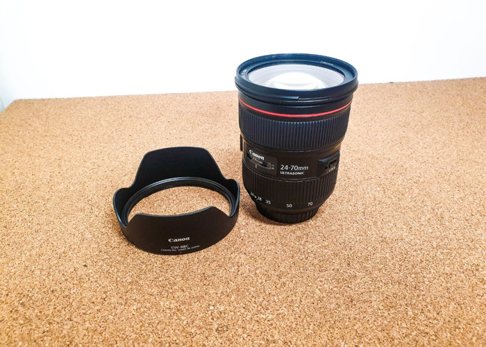 Canon 24-70mm 2.8 II Lens - Canon 24 - 70 mm - 1