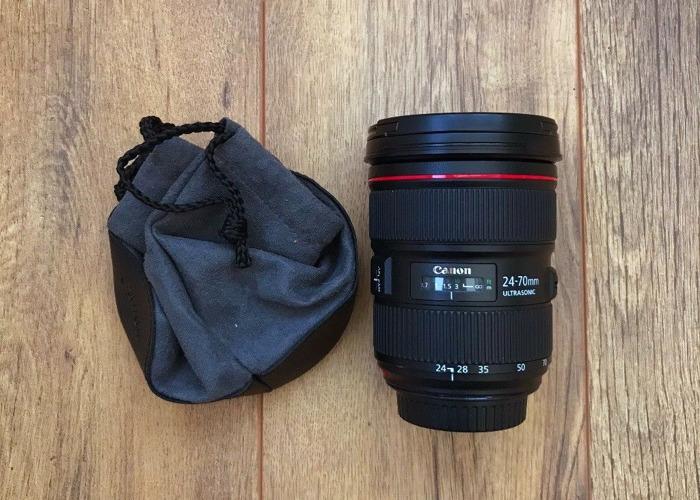 Canon 24-70mm 2.8 ii Lens - 1