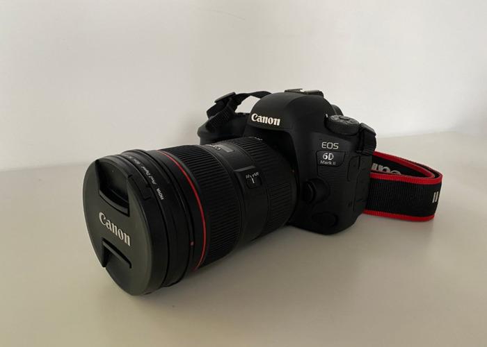 Canon 24-70mm 2.8 USM L II Lens - 1