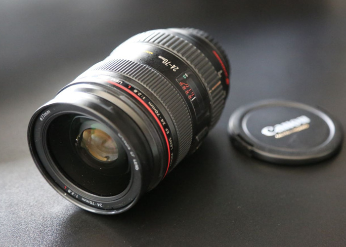 Canon 24-70mm 2.8L usm ll Lens - 1