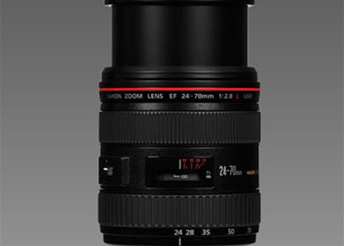 Canon 24-70mm EF Lens - 1