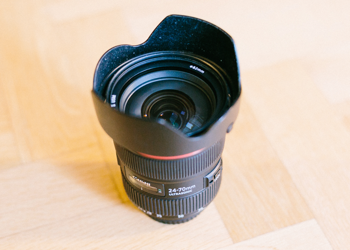 Canon 24-70mm f2.8 L II EF fit Lens - The Workhorse - 1