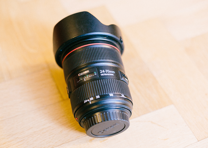 Canon 24-70mm f2.8 L II EF fit Lens - The Workhorse - 2