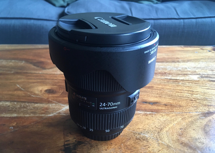 Canon 24-70mm f/2.8L II USM Telephoto Lens - 1