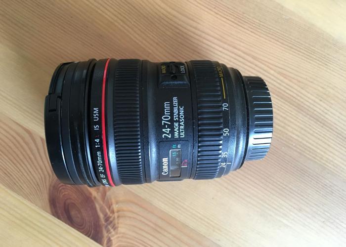 Canon 24-70mm f4 IS EF Lens w/ Macro - 1