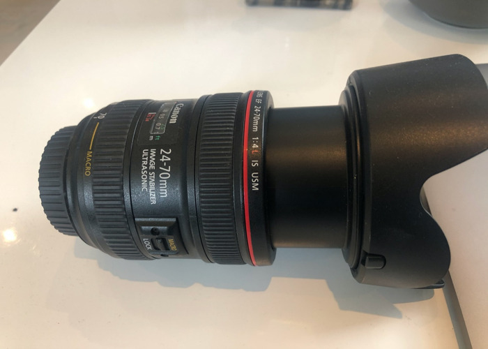 Canon 24-70mm, 1.4 Lens - 1