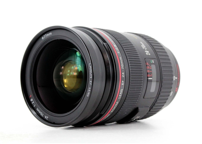 Canon 24-70mm Zoom L Lens f/2.8 - 2