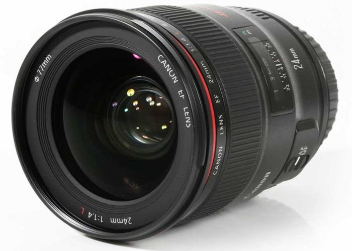 CANON 24mm f1.4 L II USM Lens - 1