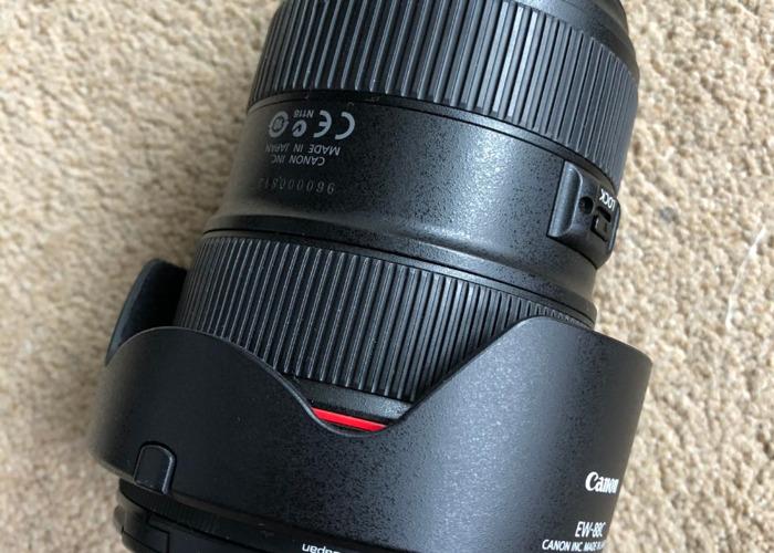 Canon 24mm-70mm USM II lens - 1