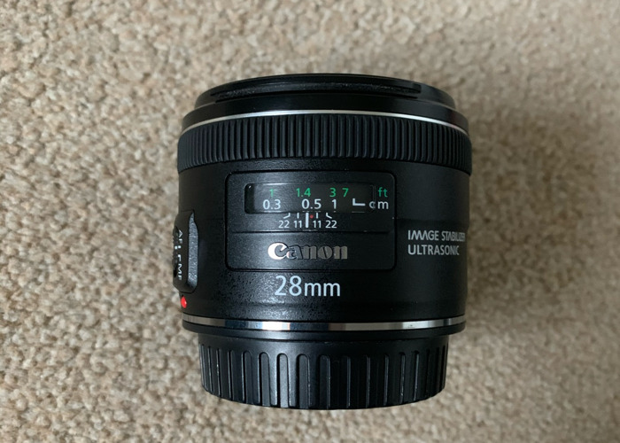 Canon 28mm 2.8 (IS)  - 1
