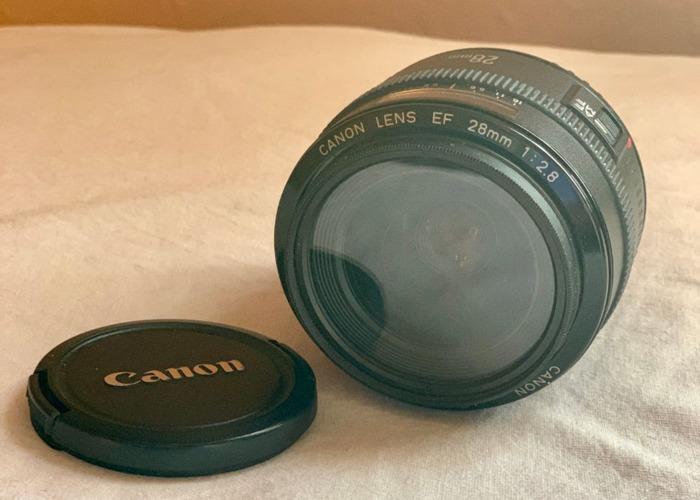 Canon 28mm f/2.8 lens - 1