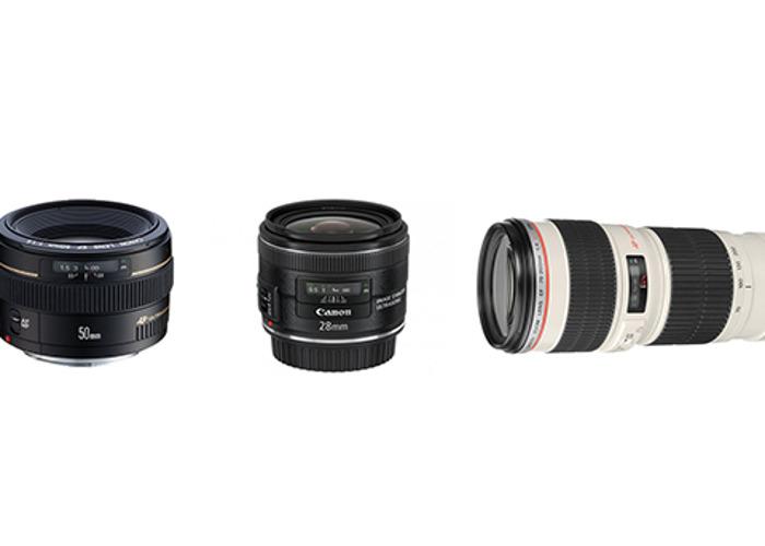 Canon 3 lens kit - 1