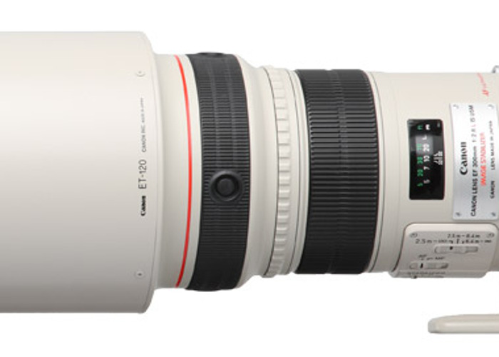 Canon 300mm IS F2.8 Lens  - 1