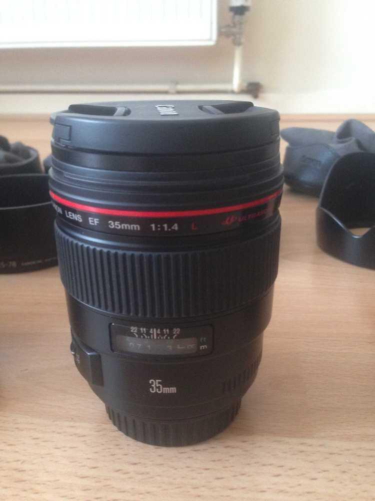 Canon 35mm f1.4 L Lens - 1