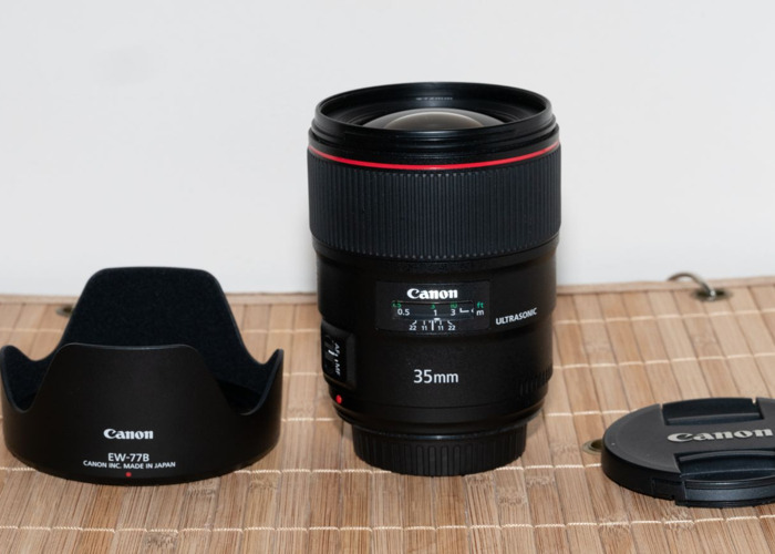 Canon 35mm f1.4 USM EF MKII Lens. DELIVERY AVAILABLE - 2