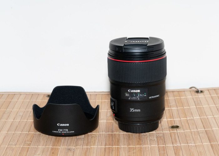 Canon 35mm f1.4 USM EF MKII Lens. DELIVERY AVAILABLE - 1