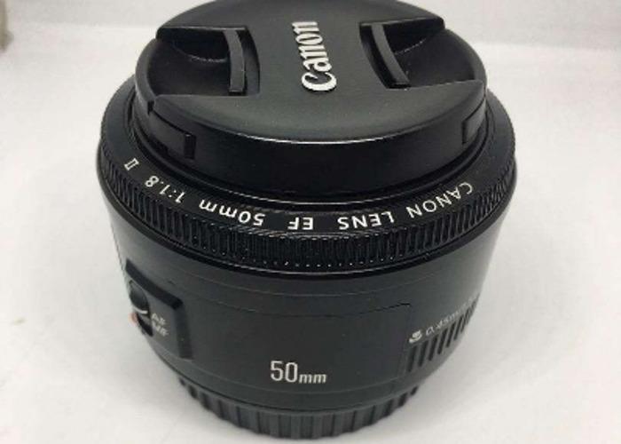 Canon 4000d + 50mm 1.8 lens - 2