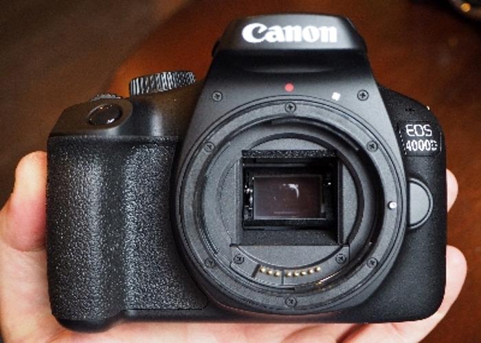 Canon 4000d + 50mm 1.8 lens - 1