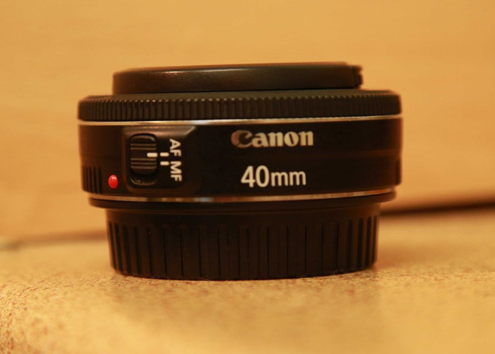 Canon 40mm f2.8 Pancake Lens - 1