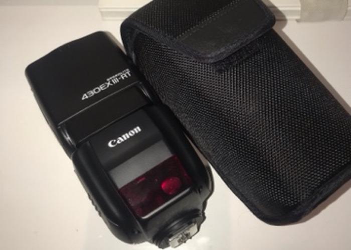 Canon 430EX III - RT Speedlite - 1
