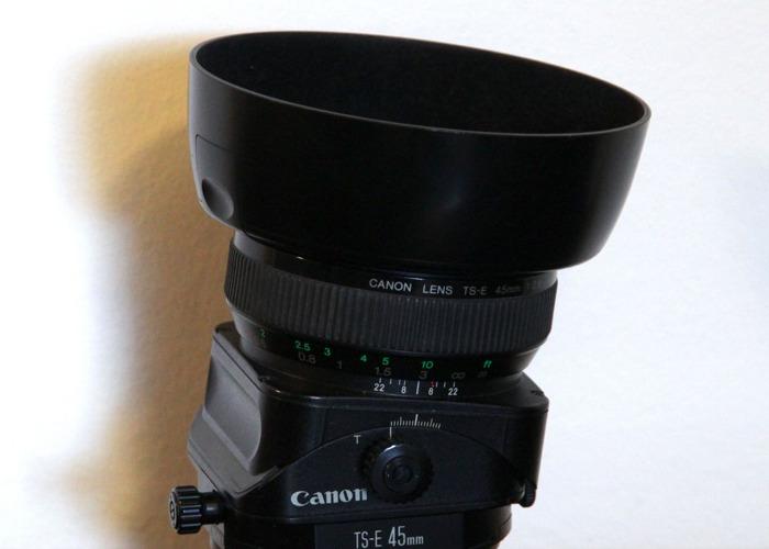 Canon 45mm f/2.8 TS-E Tilt & Shift Lens - 1