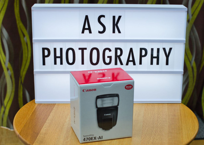 Canon 470 EX-AI Speedlite Flash (Auto Intelligence)  - 1