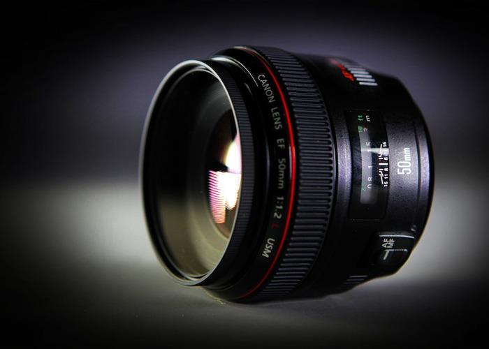 Canon 50 mm 1.2 - 1