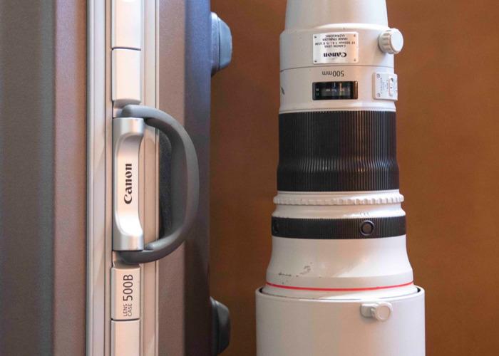 Canon 500mm F4.0 L IS USM II - EF Lens - 2