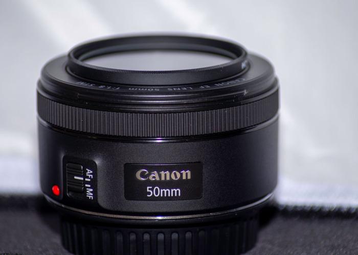 Canon 50mm / 1.8 EF lens - 2