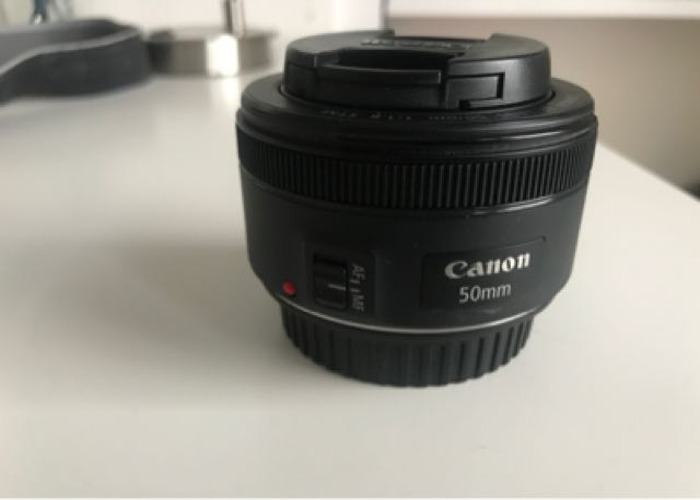 Canon 50mm 0.35m/1.1ft Lens - 1