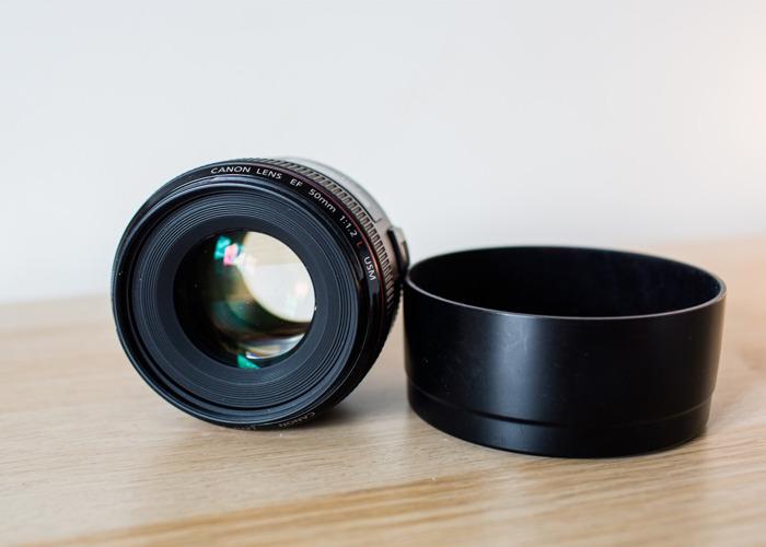 Canon 50mm 1.2L prime lens - 1