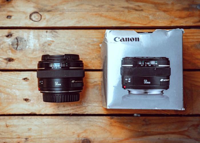 Canon 50mm 1.4 - 1