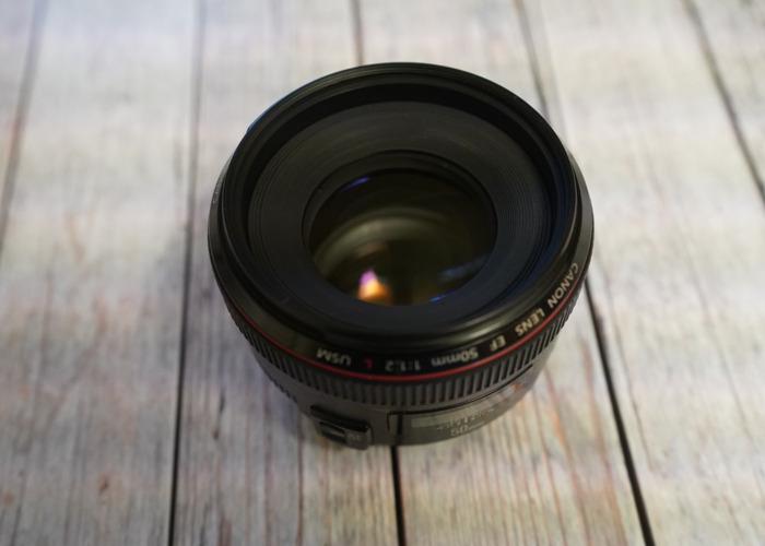 Canon 50mm f/1.2 - 1