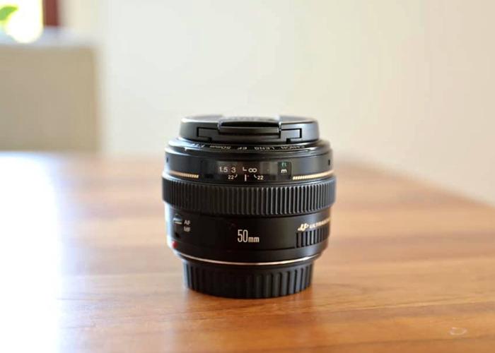 Canon 50mm F/1.4 - 1
