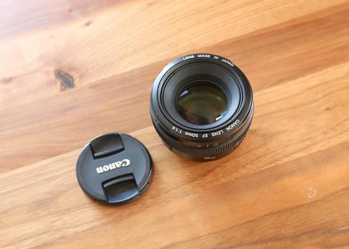 Canon 50mm F/1.4 - 2
