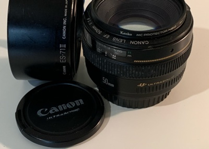 Canon 50mm f/1.4 L Series USM - 1