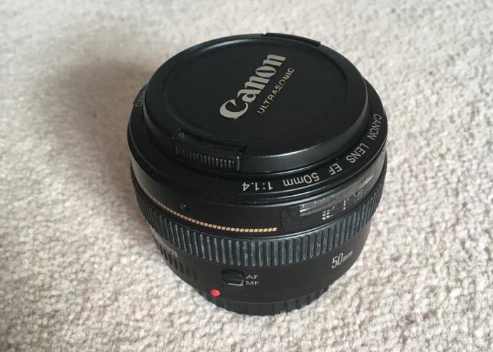 Canon 50mm f1.4 Lens - 2