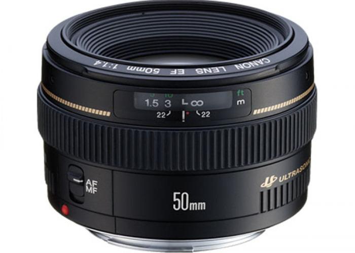 Canon 50mm f1.4 USM - 2