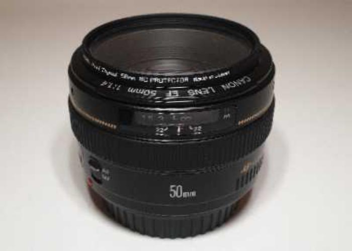 Canon 50mm F1.4 USM  - 1