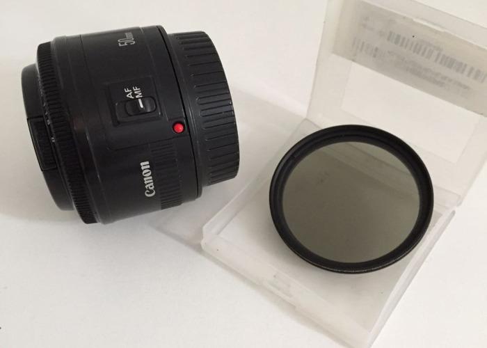 Canon 50mm f1.8 - 1