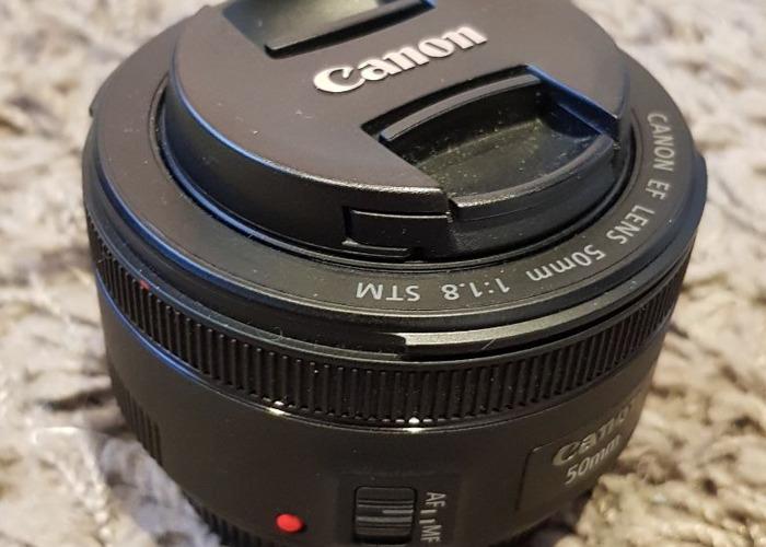 Canon 50mm f/1.8 Prime Lens  - 1